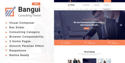 themeforest consulting themeforest bangui business consulting wordpress theme zip
