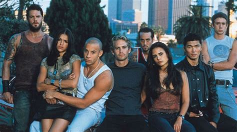 fast and furious gang the fast and the furious in theaters for 15th anniversary
