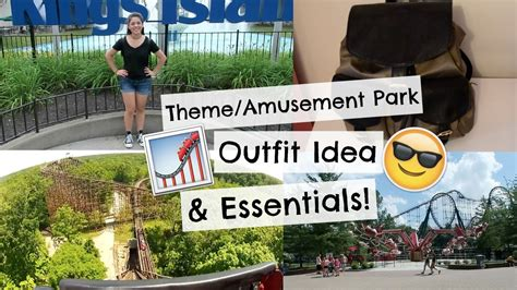 ootd at an amusement park youtube theme amusement park outfit essentials youtube