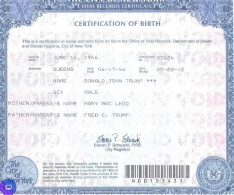 City Of New York Vital Records Birth Certificates Demands 5m From Bill Maher Upon Releasing Birth Certificate Daily