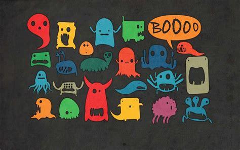 cute monster hd wallpaper cute animated monster wallpaper wallpapersafari