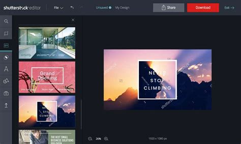 design online editor shutterstock editor is the simple way to impressive