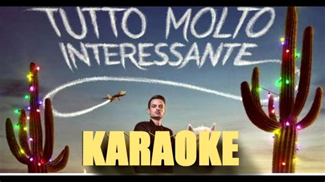 karaoke con testo tutto molto interessante rovazzi karaoke con testo