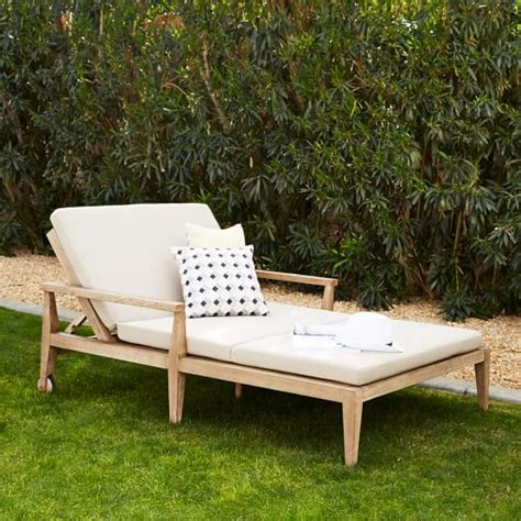 lounger cushions outdoor furniture outdoor lounger cushions west elm