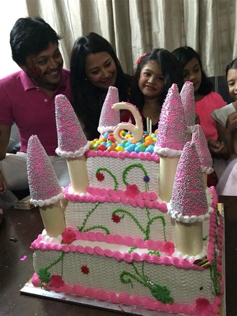 actor delhi ganesh daughter ganesh shilpa s daughter charithriya s birthday celebration