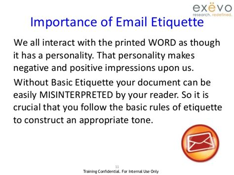 email ethics email etiquette 1 2