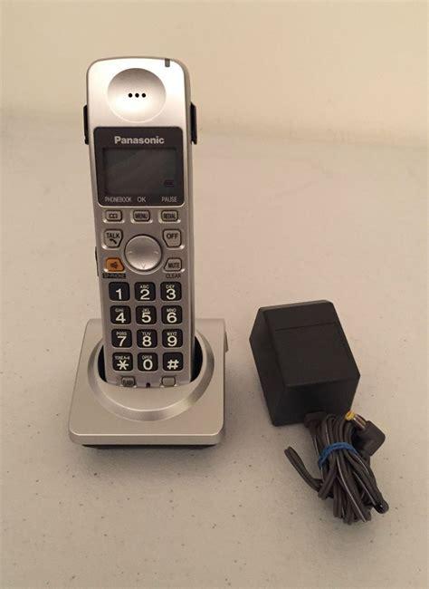 Sale Panasonic Phone Kx Ts845nd panasonic kx tga101s rb hs p kx tg1031s tg1032s phone cordless handset 6 0 for sale item