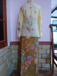 Kutubaru Batik Jawa Jihan Set Ori antique peranakan 土生华人文物 kebaya bordir 7 batik antik