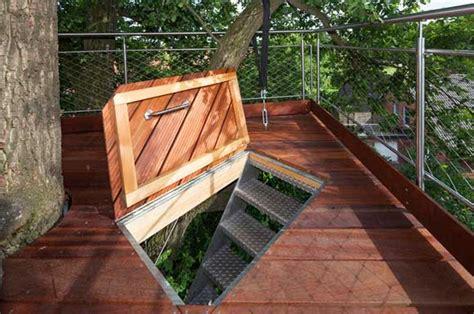 baumraum builds  treehouse halle treehouse