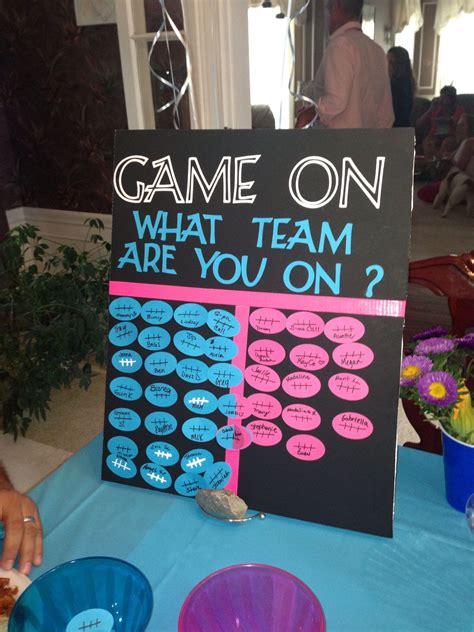 cute themes for teams our gender reveal party baby girl rodriguez