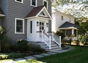 slomin residence vestibule addition transitional