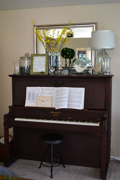 Piano Decor by Decor On Top Of The Piano For The Home