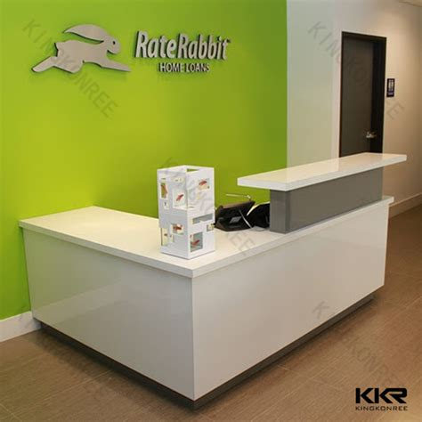 Wave Reception Desk Small Reception Desk Small Reception Desk For Salon