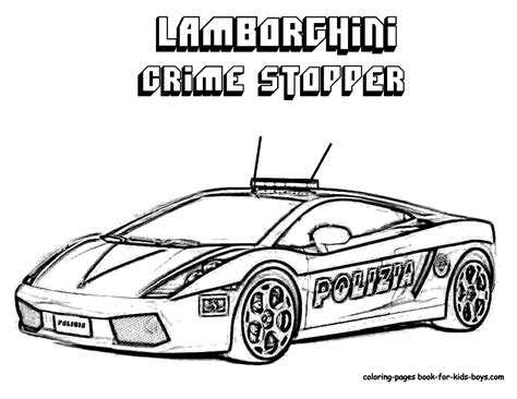 Coloring Pages Of Police Cars | free coloring pages of lego police truck