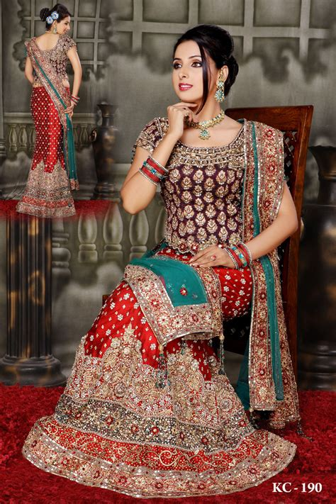 Marriage Wear Dresses by Frocks Dresses Mehndi Designs
