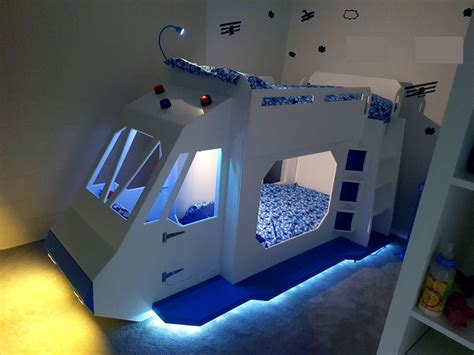 Spaceship Bunk Bed Bunk Bed Spaceship Gets Sound Effects From A Raspberry Pi Raspberry Pi Piday Raspberrypi