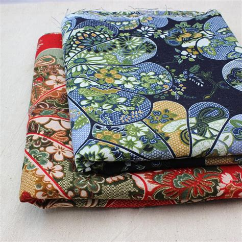 Patchwork Accessories - zakka cotton calico material cotton printed fabrics and