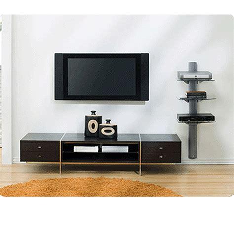 Omnimount Wall Shelf by Omnimount Tria Series 3 Glass Shelf Wall System Black Tria