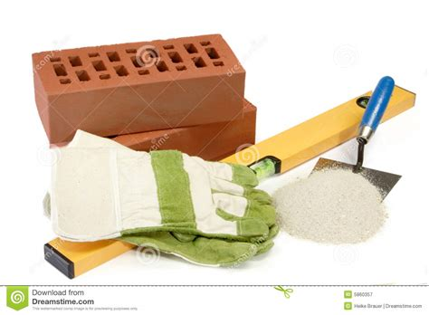House Building Equipment stock image. Image of building