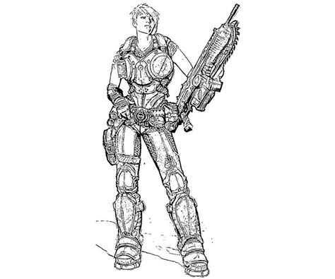 14 images of gears of war coloring pages gears of war