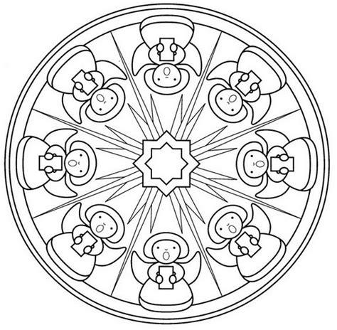 imagenes de mandalas navide as para pintar mandalas navide 241 os dise 241 os para ni 241 os y para colorear en
