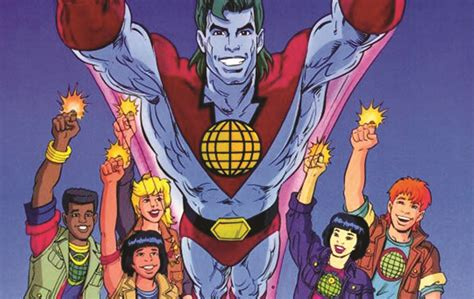 Captain Planter captain planet in the works geekynews