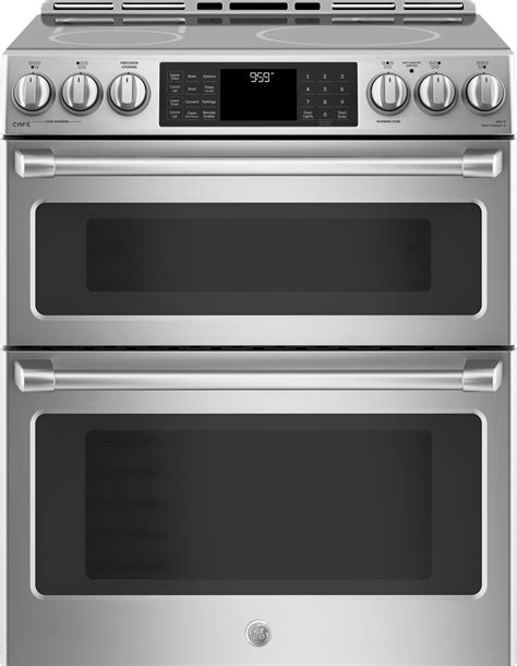 oven cooktop package ge cafe stainless steel appliance package with induction