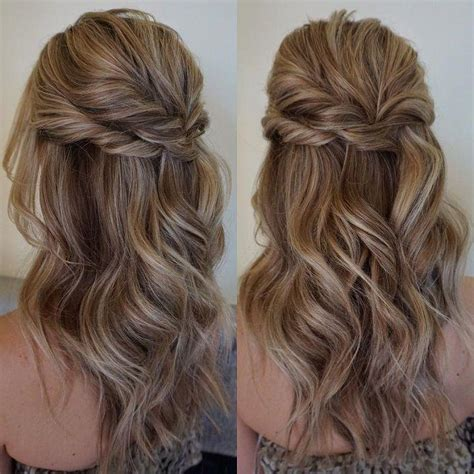 hairstyles for hair down to your shoulders 32 pretty half up half down hairstyles partial updo