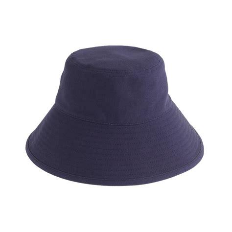 j crew hat in blue lyst