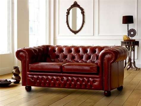 Chesterfield Sofa Claridge Leather Chesterfield Sofa