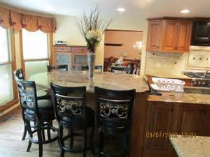 Eat At Kitchen Islands Large Kitchen Island Your Kitchen Design Inspirations And