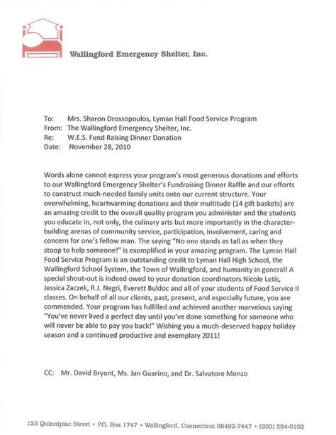 appreciation letter sle service letters of appreciation lyman culinary arts and