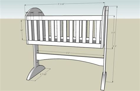 Baby Crib Plans Free by Baby Cradle Plans Free Printable Image Mag
