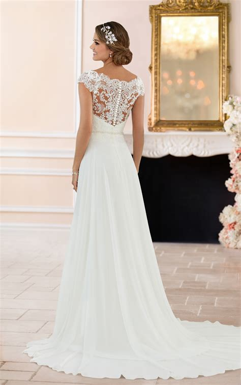 shoulder lace  wedding dress stella york