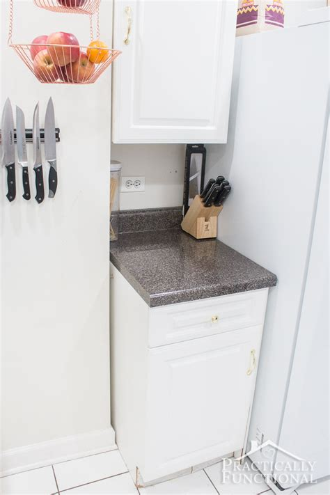 Put Together Kitchen Cabinets by Diy Pull Out Trash Cans In Under An Hour