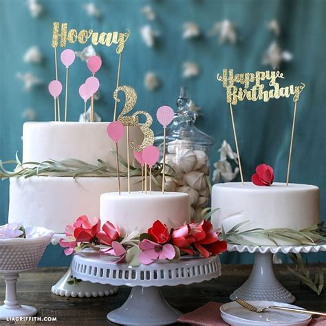 Birthday Cake Toppers by Best 10 Birthday Cake Toppers Ideas On Diy