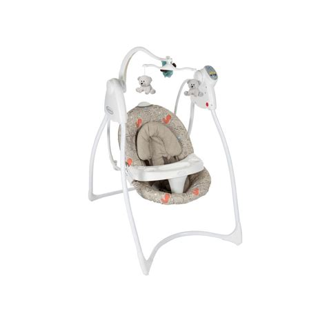graco lovin hug plug in infant swing graco lovin hug swing with plug woodland walk co