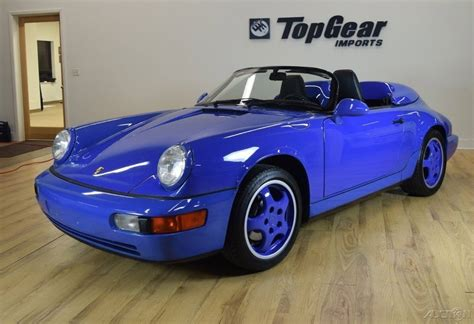 porsche maritime blue 1994 porsche 911 speedster maritime blue for sale