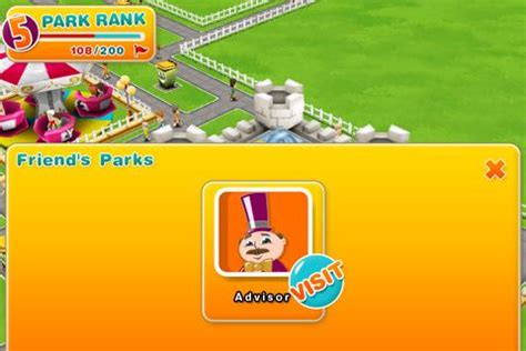 theme park cheats theme park walkthrough gamezebo