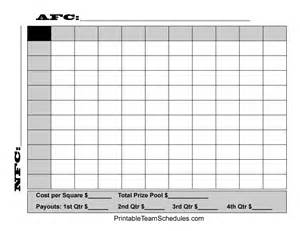 bowl box template superbowl 2015 football squares excel template autos post