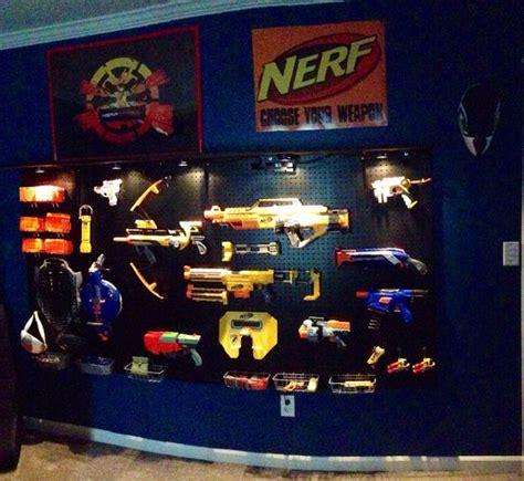 Nerf Bedroom Ideas by Nerf Gun Storage Peg Board Wall Youngest Boy S Bedroom