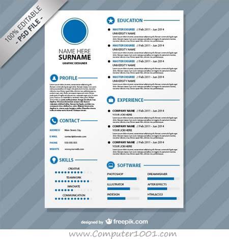 aplikasi membuat cv kreatif download gratis 20 template resume dan cv yang kreatif