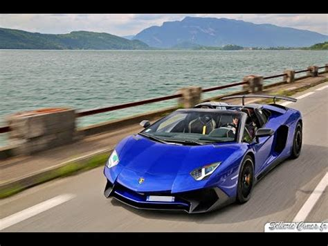 lamborghini aventador sv roadster blue lamborghini aventador sv roadster blue sideris delivery day for performance gt youtube