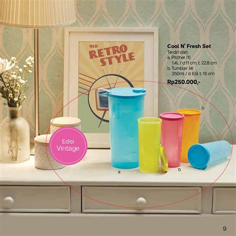 Cool Tupperware Set cool n fresh set tupperware tempat minum tupperware