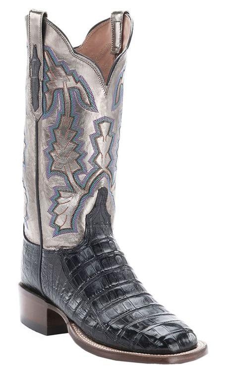 black cowboy boots for square toe shoes mod