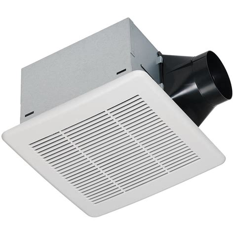 bathroom exhaust fans lowes shop utilitech 0 3 sone 80 cfm white bathroom fan energy star at lowes com