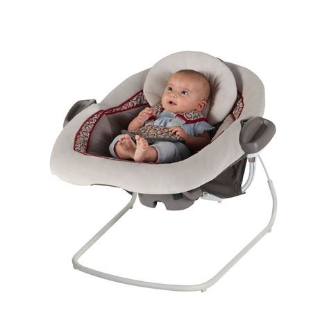 swinging baby bouncer com graco duetconnect lx swing bouncer finley