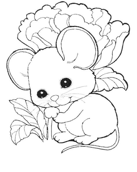 small mouse coloring page cute mouse coloring pages free kids coloring pages