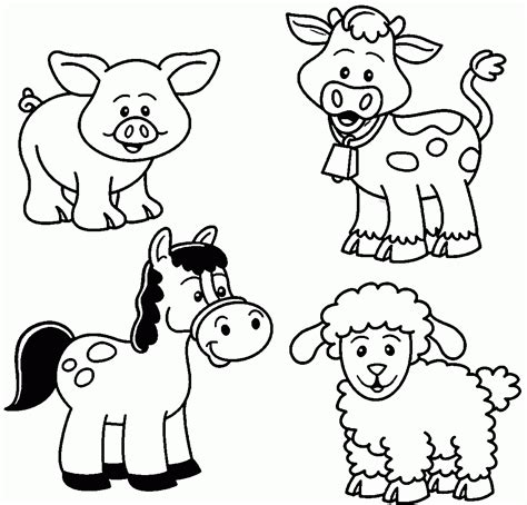 crayola coloring pages of farm animals coloring pages farm farmer free colouring animals of