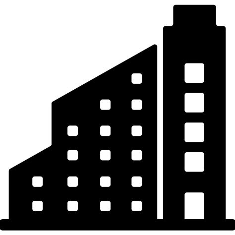 modern buildings  buildings icons